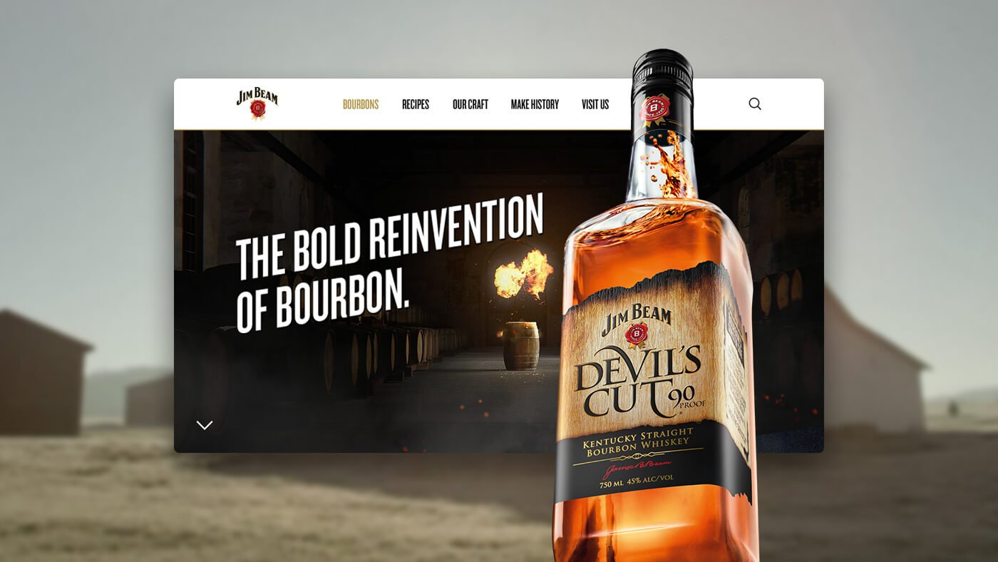 Jim Beam Platform Relaunch